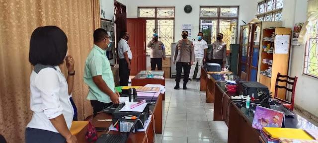 Kapolres Simalungun AKBP Nicolas Dedy Arifianto Pimpin Apel Perdana