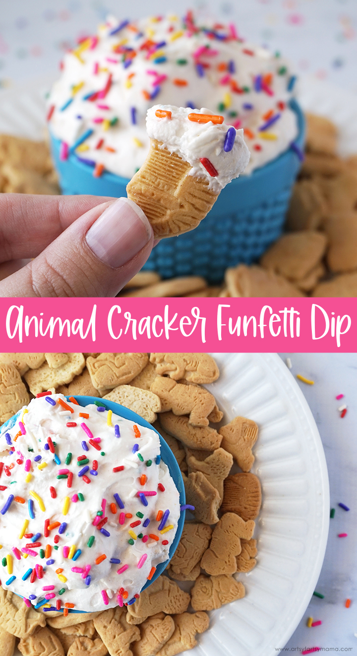 Animal Cracker Funfetti Dip