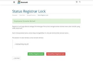 registrar lock