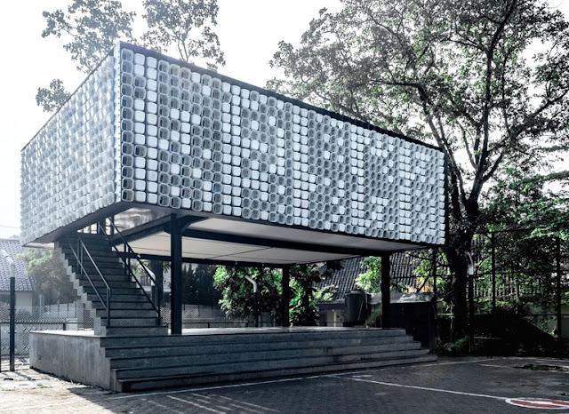 Microlibrary di Bandung oleh Shau, profil proyek