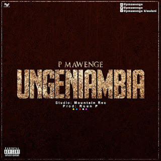 Audio | P Mawenge (P The Mc) - Ungeniambia | Mp3 Download [New Song]