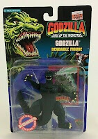 Godzilla King of the Monsters Classic Bendable Figure Vintage Trendmasters 1994