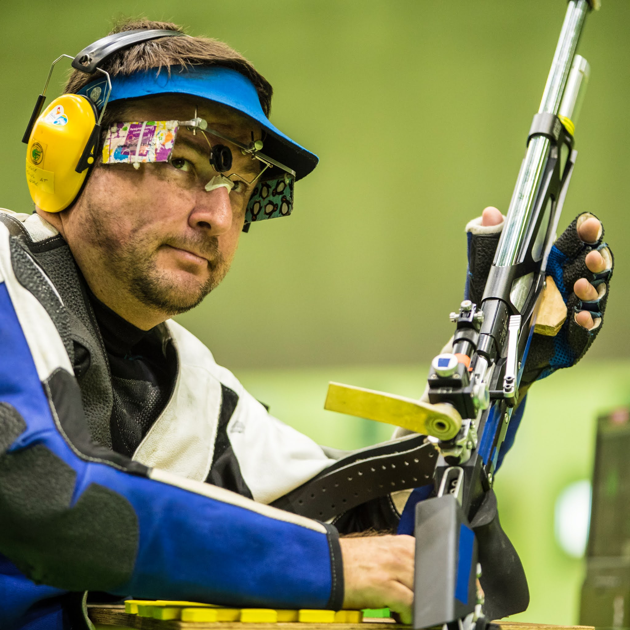 Classificações funcionais do tiro esportivo nas Paralimpíadas