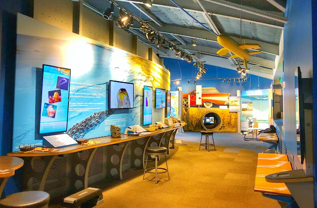 Visitors here can explore the sanctuary's remarkable marine environment as well as their personal role in protecting one of our nation's underwater treasures. If you like the place, you can easily spend more than an hour here.