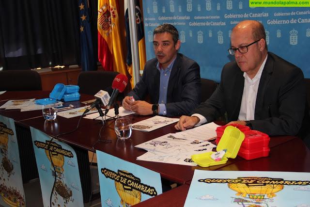 23.619 escolares de Canarias se benefician de la segunda edición de un proyecto de divulgación de quesos de las Islas