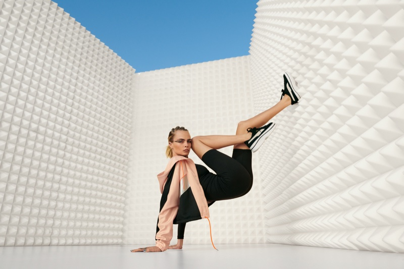 Cara Delevingne stars in PUMA Deva sneaker campaign