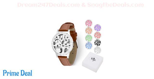 50% OFF Aromatherapy Essential Oil Diffuser Bracelet Jewelry Unique Gift Idea