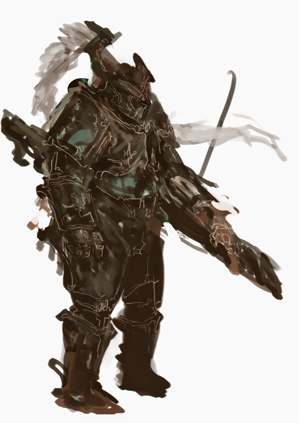 spitpaint,speedpaint,douglasderi,conceptart,sci-fi,fantasy,war,warrior,swordmaster,art,deri,deriart,how to paint, photoshop brushes, brushes, how to draw, como desenhar,