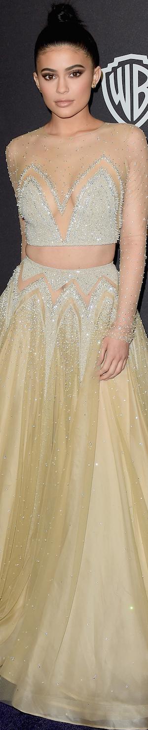 Kylie Jenner 2016 Golden Globes