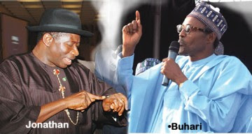 president jonathan resignation buhari