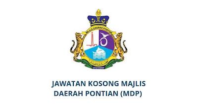 Jawatan Kosong Majlis Daerah Pontian 2019 (MDP)