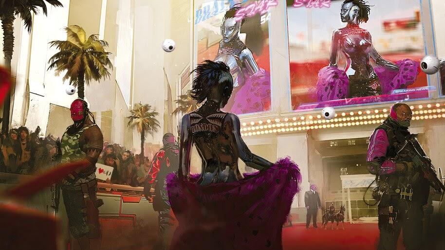 Cyberpunk 2077, Neokitsch, Style, 4K, #3.2234