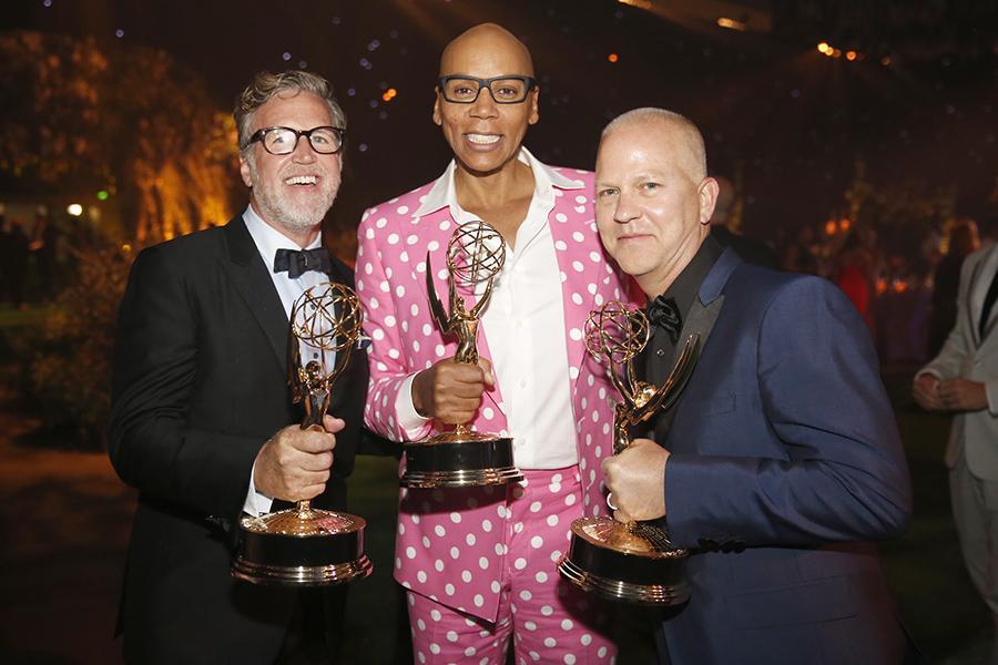 Ned Martel, RuPaul y Ryan Murphy, ganadores en los Creative Arts Emmy Awards 2016
