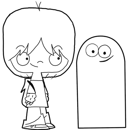 Fosters Home Of Imaginary Friends Coloring Pages