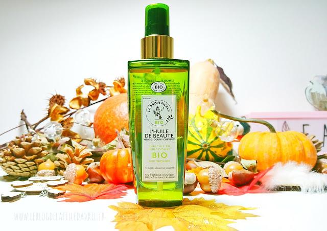 LA PROVENÇALE BIO : L'huile de beauté cheveux, visage et corps.