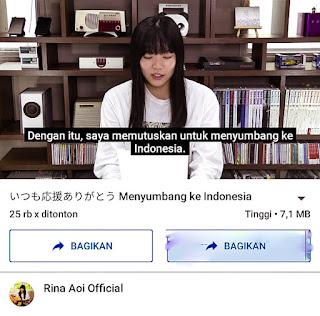 Youtuber Asal Jepang Donasi Ke Indonesia
