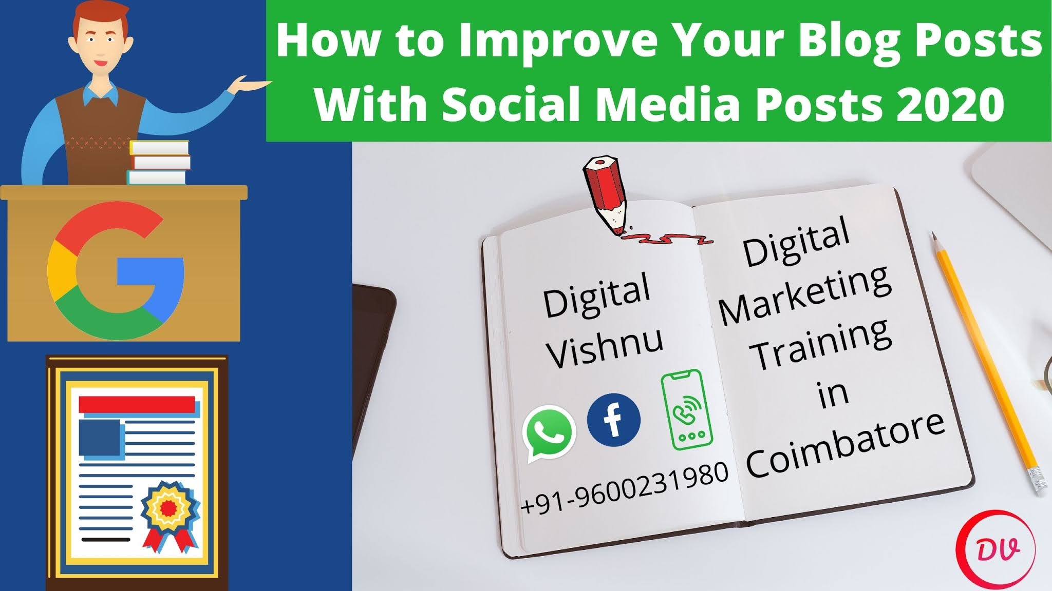 How to Improve Your Blog Posts With Social Media Posts 2020