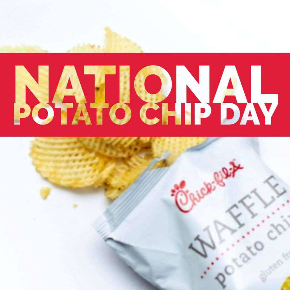 National Potato Chip Day Wishes Awesome Picture