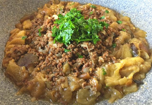 patlıcanlı, tarifler, kavurmalı, patlıcan yemekler,  Osmanlı, Mutfağı.