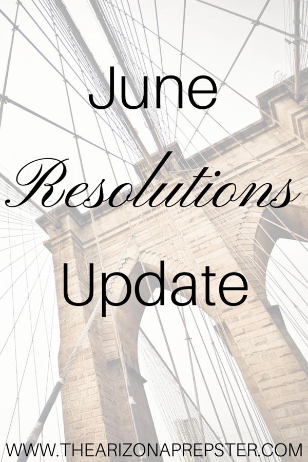 June Resolutions Update