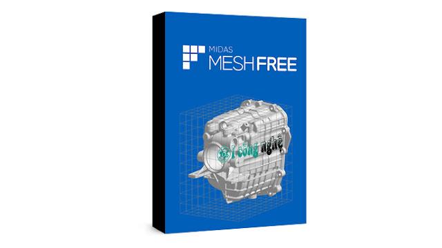 تحميل برنامج midas MeshFree 2020 كامل مع التفعيل