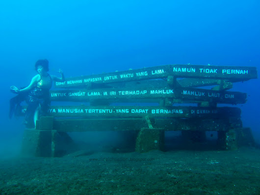 Buleleng Bali Dive Festival 2015... my moment of truth :D.