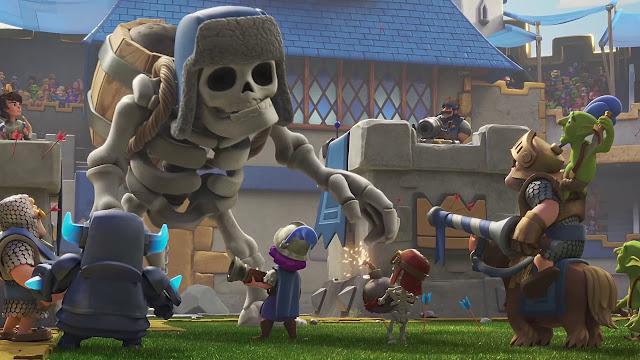 Giant Skeleton Challenge