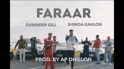 Checkout Gurinder Gill Song Faraar lyrics on Lyricsaavn