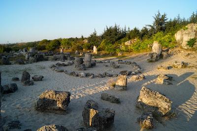 Stone forest Varna Pobiti Kamani