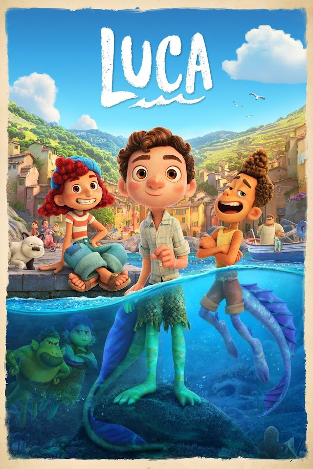 Luca 2021 x264 720p Esub BluRay Dual Audio English Hindi THE GOPI SAHI