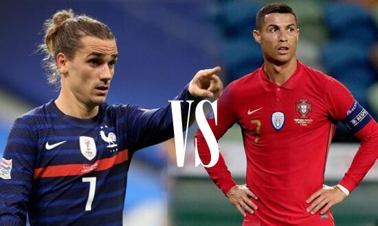 UEFA Nations League 2020-21: Prediksi Prancis vs Portugal