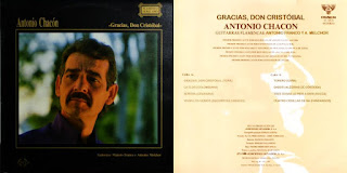 """ANTONIO CHACÓN, ANTONIO FRANCO Y ANTONIO MECHOR """"GRACIAS, DON CRISTOBAL"""" SENADOR 1990"""