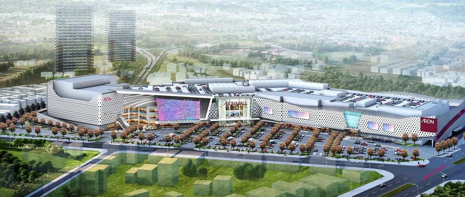 Đại siêu thị Aeon Mall Hoàng Mai của Nhật Bản
