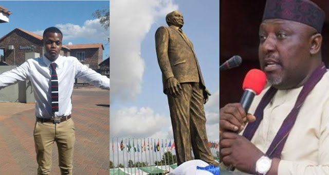 Jacob Zuma's Statue: South African Man Mocks Nigerians, Nigerians Fire Back