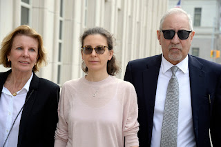 Clare Bronfman, an heiress to the Seagram liquor fortune, pleaded guilty to two crimes in connection with her role at Nxivm, involving identity theft and immigration fraud.Credit...Jefferson Siegel for The New York Times