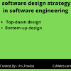 software design strategies in software engineering