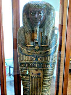 Múmia do Egito Antigo no Museu Nacional do Rio de Janeiro