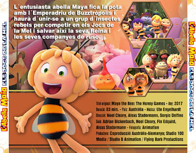 L'abella Maia - Els jocs de la mel - [2017]