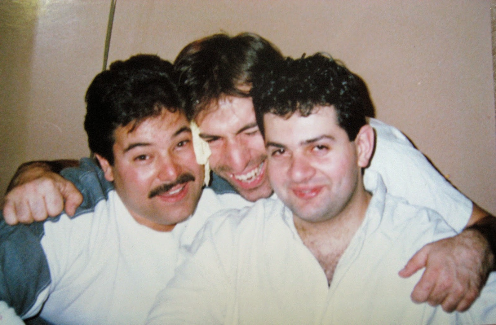 Gregg Ponciano (left) Tommy Mondello & Ronnie Gallo 3 sheets to the wind  LoL