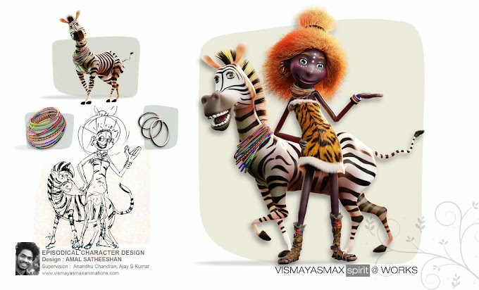 The Kenyan 'Eve' with her sidekick playful 'Zebra' !! Lets rock with him....