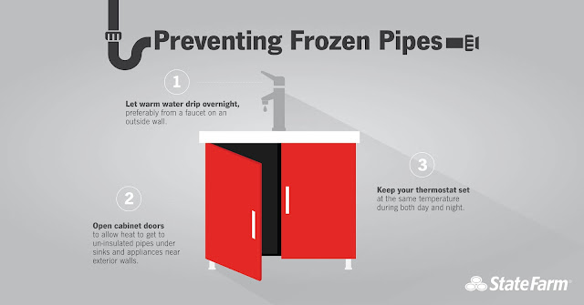 Illinois had the most Frozen Pipes claims in 2018