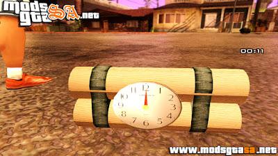 Mod Dinamite com Relógio V1