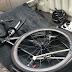 Hindari Pita Pengejut, Pesepeda Jakarta Kecelakaan