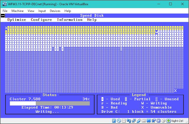 Supratim Sanyal's Blog: SPEEDISK for MS DOS FAT Windows 3.1 Windows 3.11 WFW ZEROFREE SDELETE free disk space for compacting virtual hard disk drive