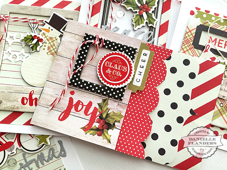Homespun with Heart Creative Cardmaker holiday cards