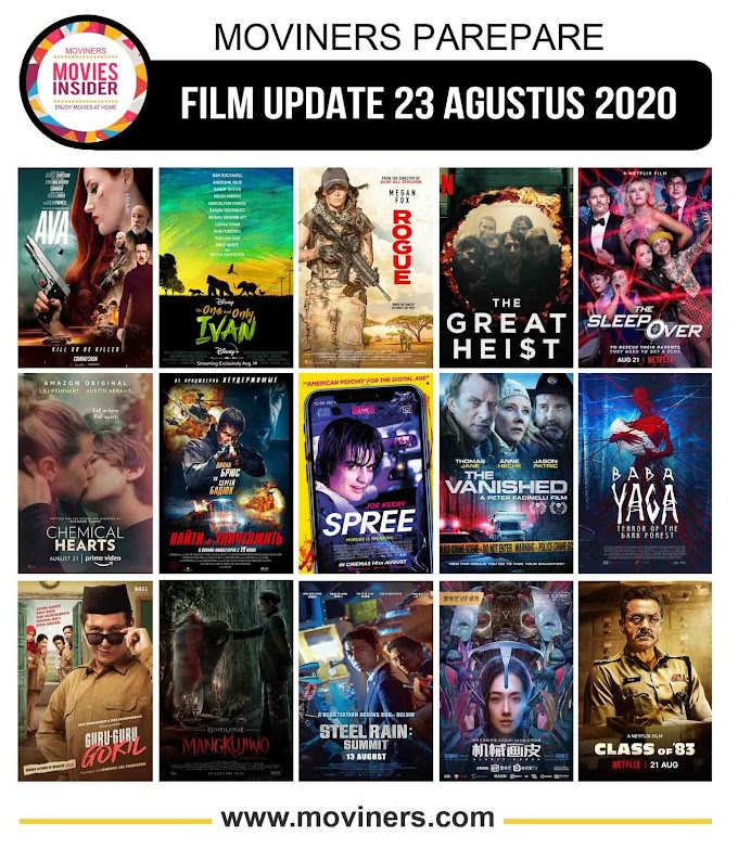 FILM UPDATE 23 AGUSTUS 2020
