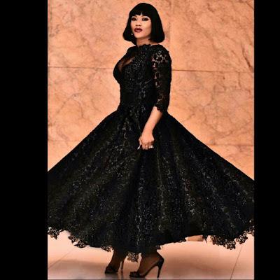 Toyin Lawani N1.5million dress