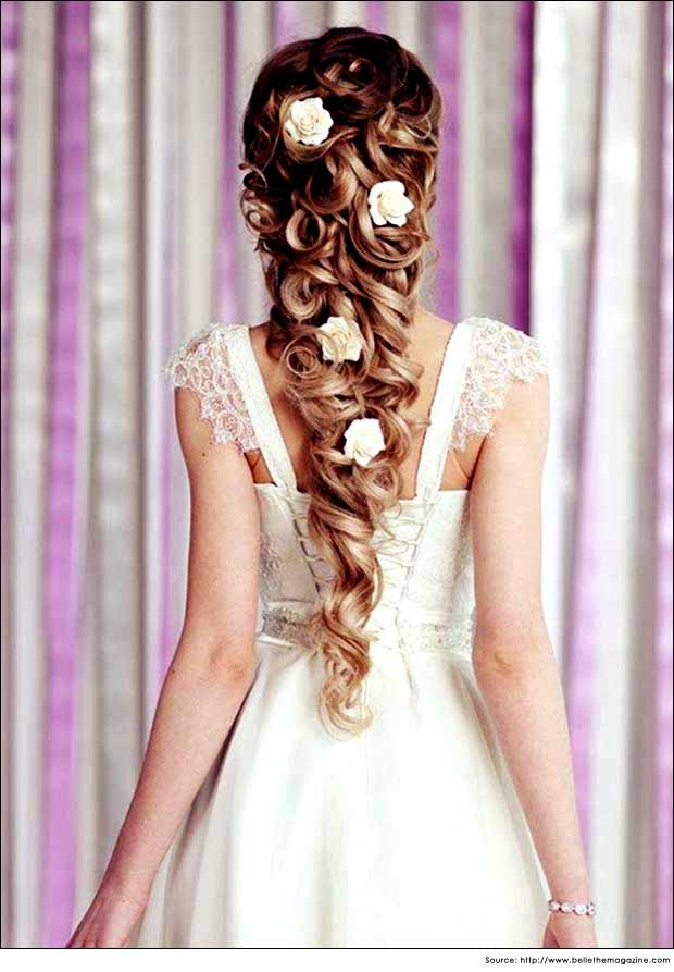 Cone Shaped Wedding Hairstyles for Long Hair | Wedding Hair Style Tips