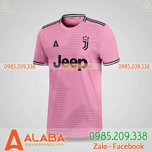 Áo bóng đá nữ màu hồng đẹp mắt
