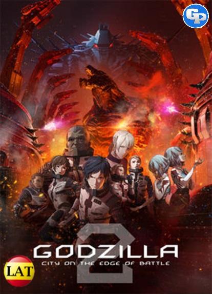 Godzilla: Ciudad Al Filo De La Batalla (2018) LATINO